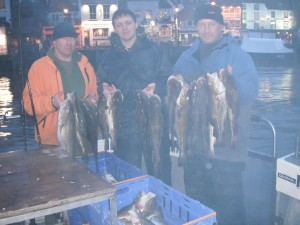 Whitby Charter Boat fishing