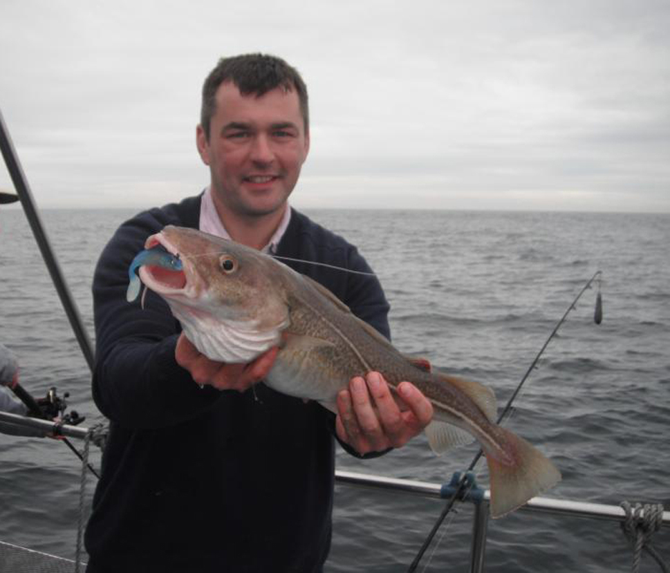 Whitby Shad Fishing For Cod
